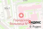 Схема проезда до компании Городская клиническая больница №30 в Нижнем Новгороде