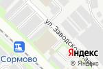 Схема проезда до компании Экомир-НН в Нижнем Новгороде
