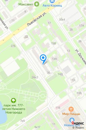 Дом 30 по ул. Дворовая на Яндекс.Картах