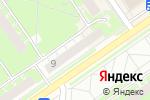 Схема проезда до компании Джинсовая солянка в Нижнем Новгороде