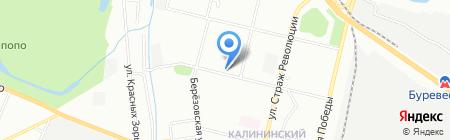 Самойловский текстиль на карте Нижнего Новгорода