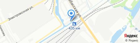 Аветколдуй на карте Нижнего Новгорода