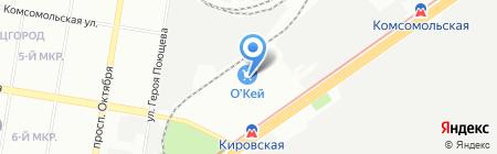 Империя сумок на карте Нижнего Новгорода