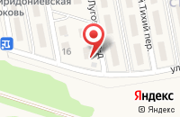 Схема проезда до компании Стрижи в Кусаковке