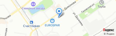 Непроспи на карте Нижнего Новгорода