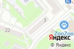 Схема проезда до компании Одежда и кожгалантерея в Нижнем Новгороде