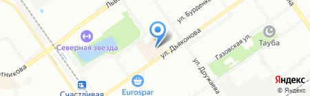 Чайный Колодец на карте Нижнего Новгорода