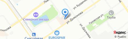 Банкомат Банк ВТБ 24 на карте Нижнего Новгорода