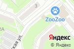 Схема проезда до компании Финалист в Нижнем Новгороде