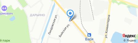 Леопольд на карте Нижнего Новгорода
