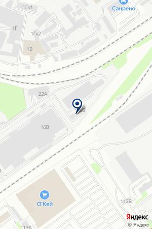 ПТФ ЖУРАВА на карте Нижнего Новгорода