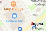 Схема проезда до компании Чудо слойка в Нижнем Новгороде