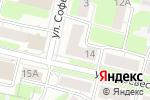 Схема проезда до компании La Reine в Нижнем Новгороде