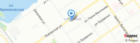 Премьер на карте Нижнего Новгорода