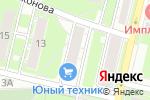 Схема проезда до компании Магазин канцтоваров на ул. Евгения Никонова в Нижнем Новгороде