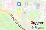 Схема проезда до компании Губерния-НН в Нижнем Новгороде