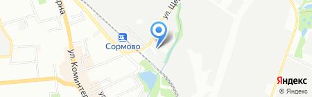 Металлштампсервис на карте Нижнего Новгорода