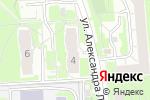 Схема проезда до компании Салют в Нижнем Новгороде