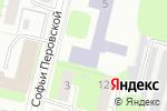 Схема проезда до компании СДЮСШОР №4 по волейболу в Нижнем Новгороде