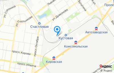 Местоположение на карте пункта техосмотра по адресу г Нижний Новгород, ул Переходникова, д 1Б