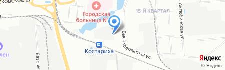 1-я Нижегородская мануфактура на карте Нижнего Новгорода