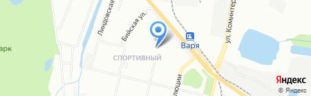 Теплый Стан на карте Нижнего Новгорода