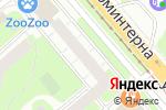 Схема проезда до компании Улыбка в Нижнем Новгороде