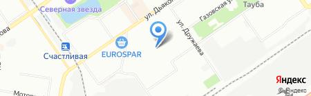 Детский сад №79 на карте Нижнего Новгорода