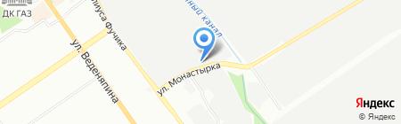 Инженерные системы НН на карте Нижнего Новгорода