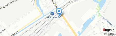 Автомойка на карте Нижнего Новгорода