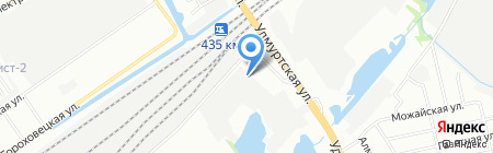 Неоман-НН на карте Нижнего Новгорода
