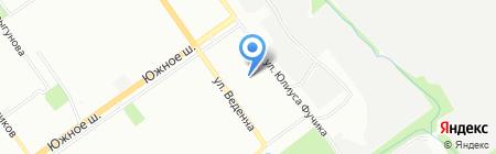 Киоск по продаже хлебобулочных изделий на карте Нижнего Новгорода