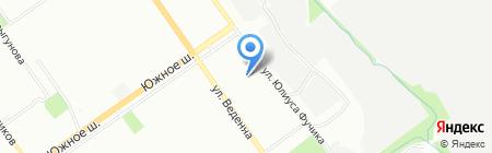 Детский сад №109 на карте Нижнего Новгорода