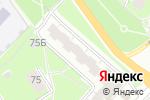 Схема проезда до компании Веселая расческа в Нижнем Новгороде