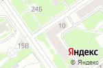 Схема проезда до компании Барыня в Нижнем Новгороде
