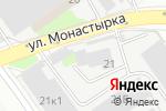 Схема проезда до компании ПрофМодульСтрой в Нижнем Новгороде