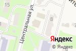 Схема проезда до компании Магазин хозтоваров на Центральной в Кусаковке