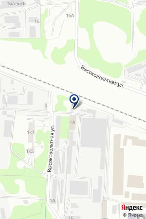 АВТОБАЗА НИЖЕГОРОДАГРОСНАБ на карте Нижнего Новгорода