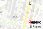 Схема проезда до компании Fati в Нижнем Новгороде
