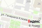 Схема проезда до компании Провиант в Нижнем Новгороде