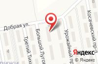 Схема проезда до компании Стрижи в Новинках