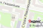 Схема проезда до компании Катрин в Нижнем Новгороде