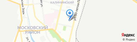 ДОКРос на карте Нижнего Новгорода
