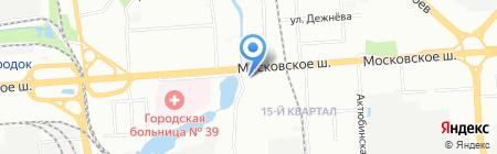 Кавказский дворик на карте Нижнего Новгорода