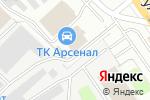 Схема проезда до компании АвтоКорея52 в Нижнем Новгороде