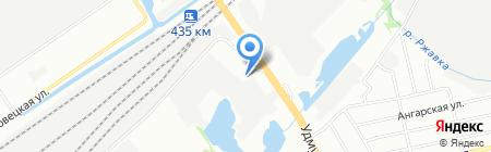 Автоисток НН на карте Нижнего Новгорода