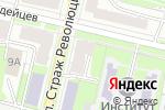 Схема проезда до компании ТехноСтрой в Нижнем Новгороде
