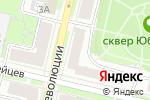 Схема проезда до компании Улыбка плюс в Нижнем Новгороде