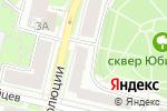 Схема проезда до компании Шпиль в Нижнем Новгороде