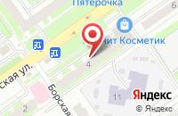Схема проезда до компании Николь в Нижнем Новгороде